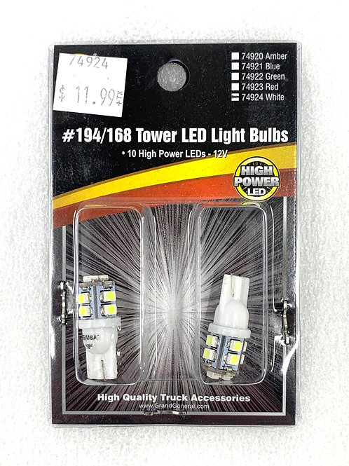 194/168 Tower Light Bulb White