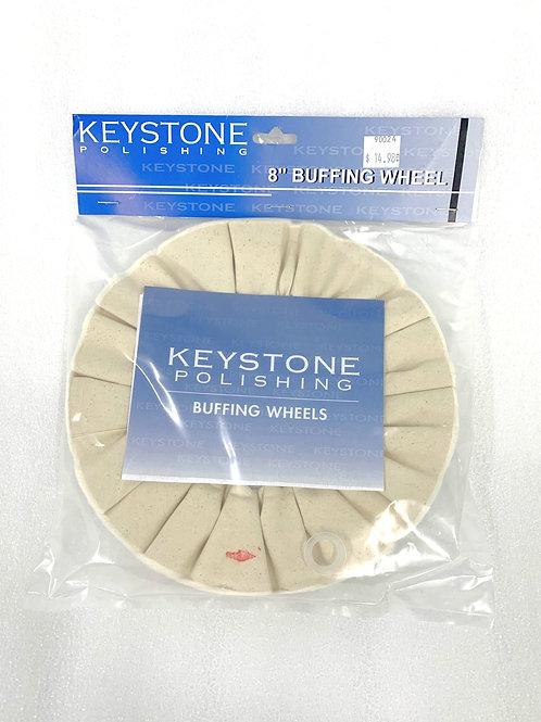 """8"""" Buffing Wheel White"""