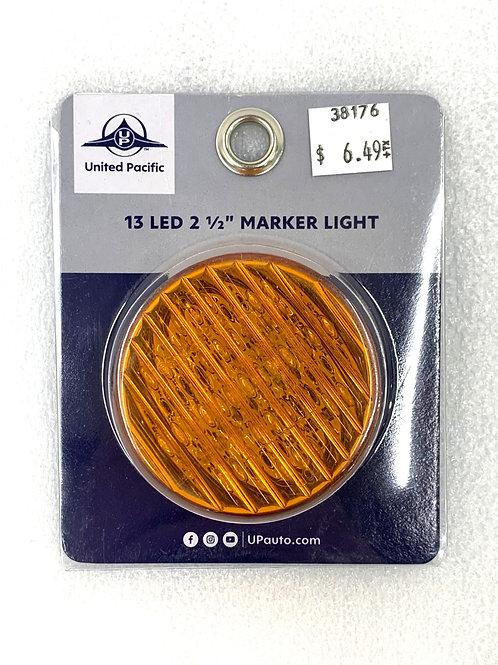 """2-1/2"""" Amber Marker Light"""