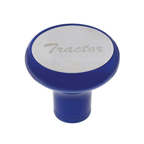 Blue Chrome Air Valve Knob