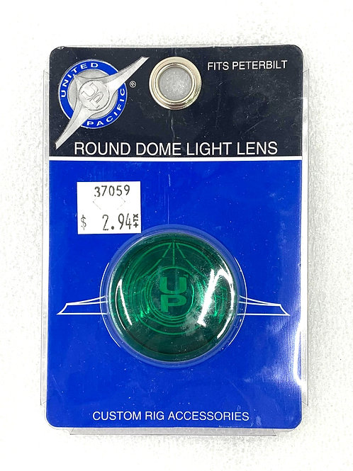 Green Round Dome Light Lens