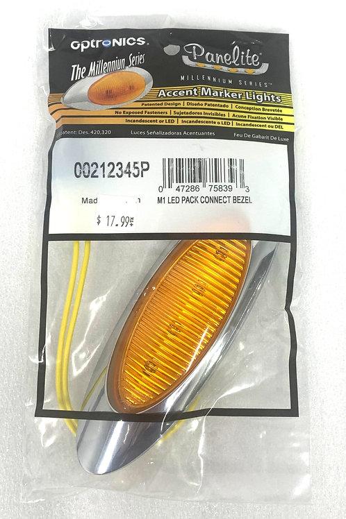 M1 Amber Oval Marker Light