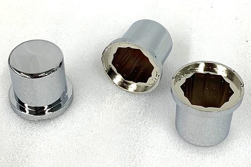 24mm Chrome Nut Cover