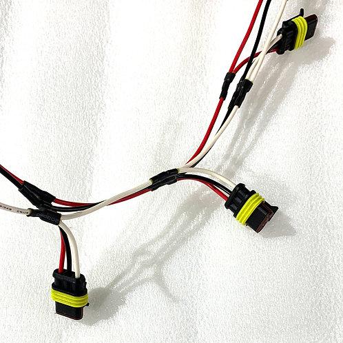 3-Pin Male Wire Harness