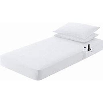 "42"" x 80"" White Bed Sheet"