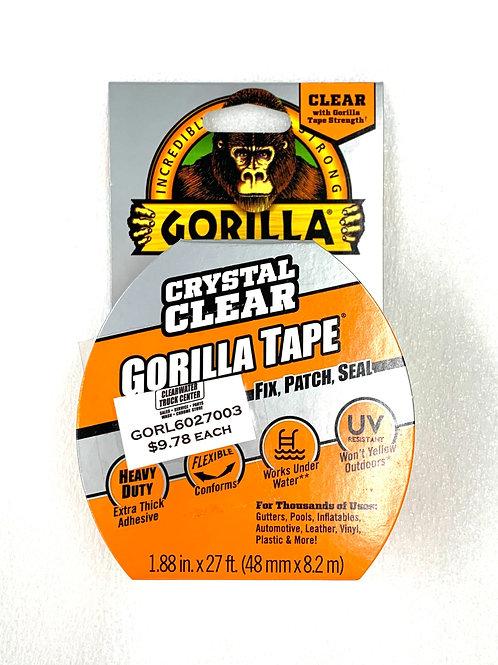 Gorilla Tape Clear 27ft
