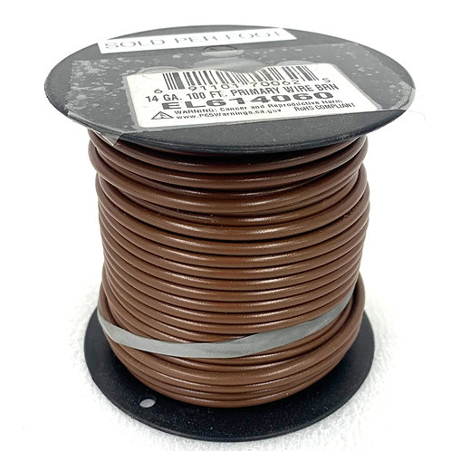 14Ga. Primary Brown Wire
