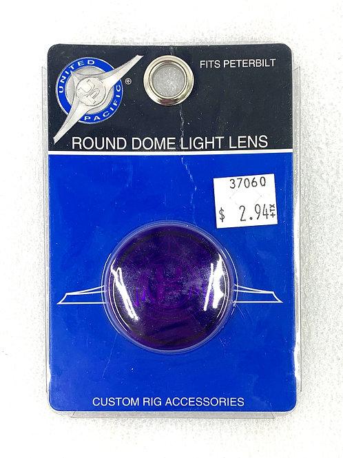 Purple Round Dome Light Lens