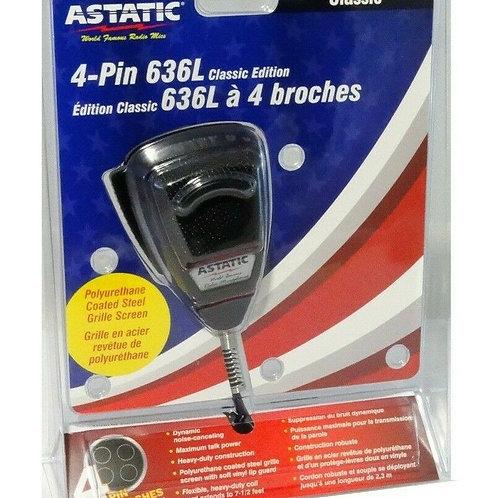 4-Pin 636L Classic CB Mic