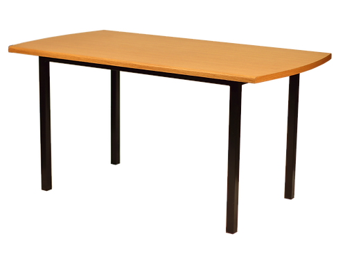 Mesa de comedor rectangular.