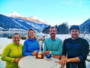 BLLV Mannschaft verteidigt ihren Titel bei den Ski Behördenmeisterschaften!