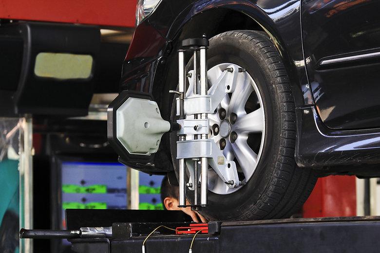 Car wheel fixed with computerized wheel