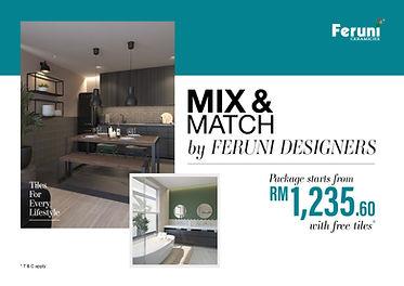 Mix and Match by Feruni Designers