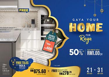 Gaya Your Home For Raya