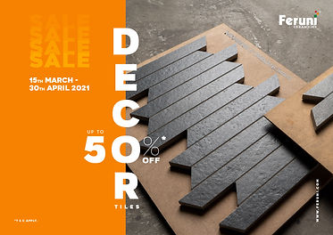 Decorate with Feruni Tiles