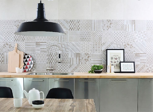 Cemento Patchwork Tile Collection