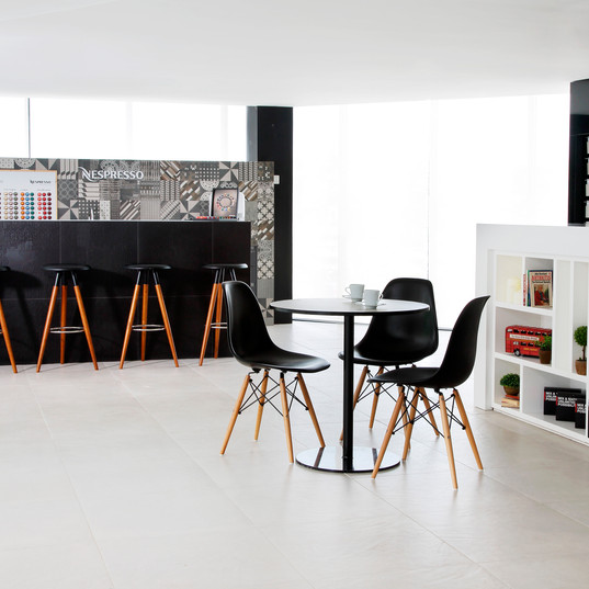 Mix and match corner allows visitors to find the perfect tiles