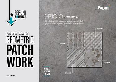 Feruni Bonanza – Geometric Patchwork