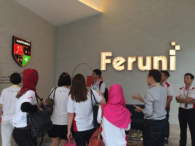 Core Value, Feruni Tour @ Feruni Ceramiche Petaling Jaya