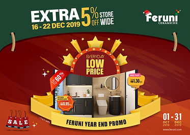 Jingle Tiles Promo – Up to 60% + 5% Off Storewide