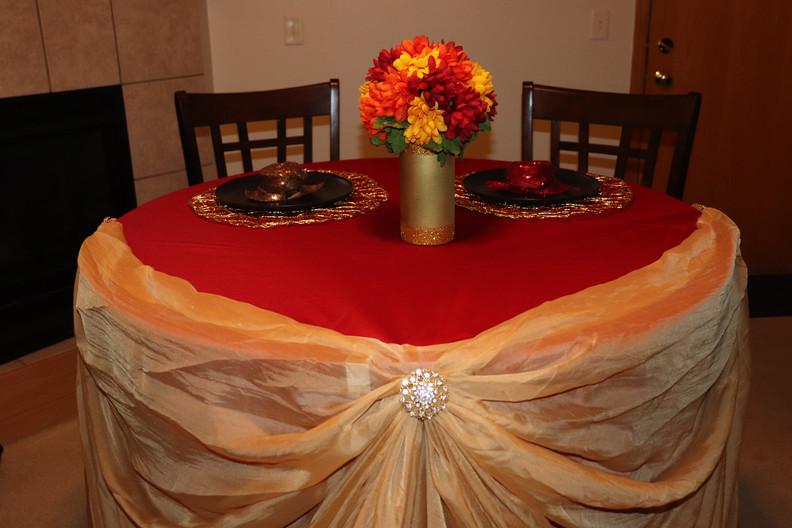 Swag Table Skirting