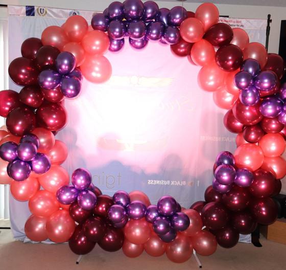 Balloon Garland Hoop