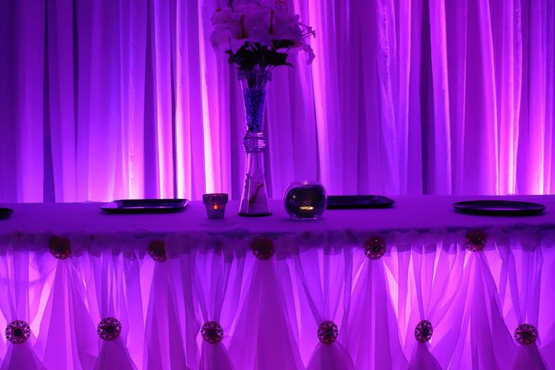Cinderella Table Skirting
