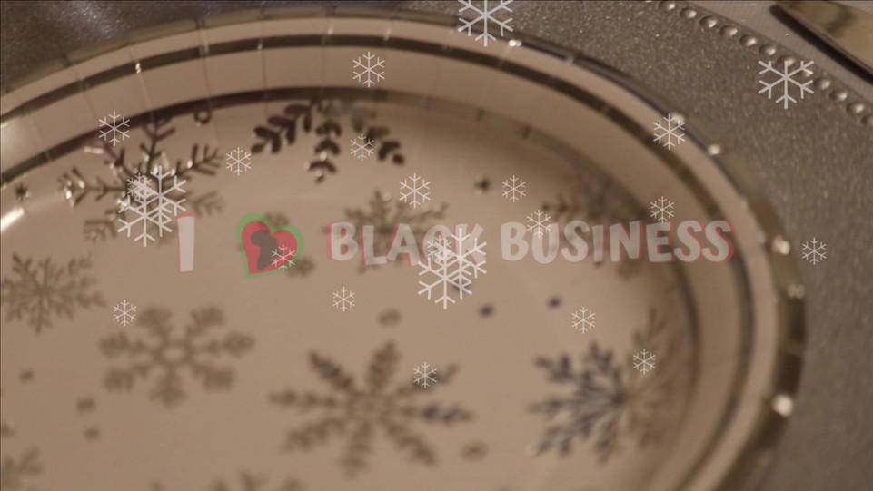 Snowflake Table Decor Kit