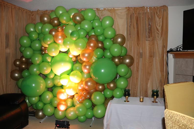 Round Balloon Wall