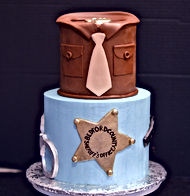 New Sheriff in Town Cake
