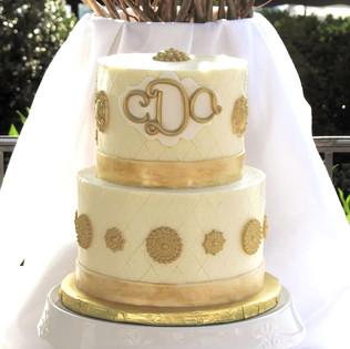 Vintage Art Deco Cake