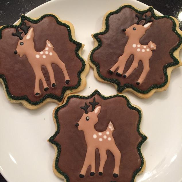 Deer Cookies
