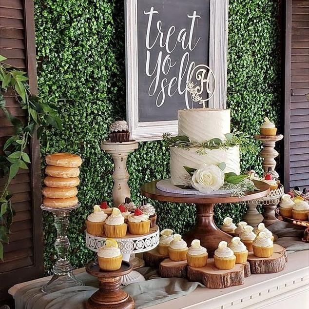 Wedding Cupcake Buffet