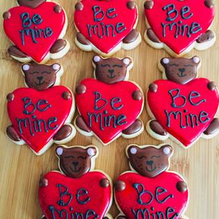 Bear Be Mine Cookies