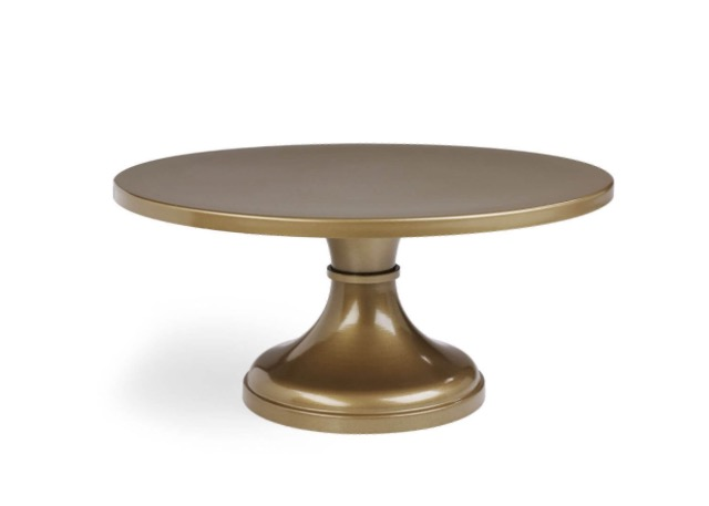 16_ Gold Pedestal Cake Stand