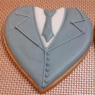 Groom Tuxedo Cookies
