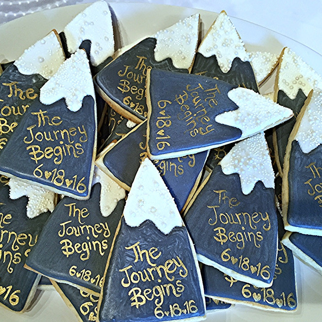 Begin the Journey Cookies