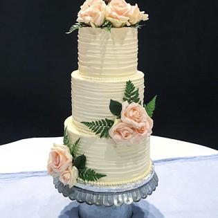 Wedding Cake Rustic Charm