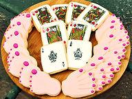 Hand & Foot Card Cookies