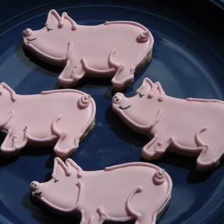 Little Piggy Cookies