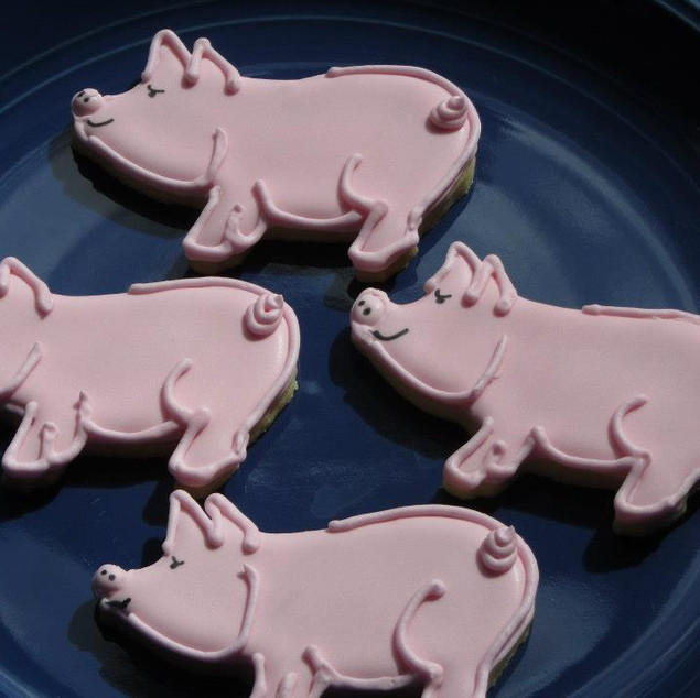 Little Piggy Cookies