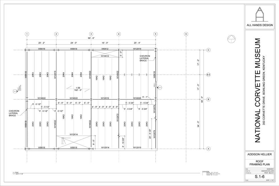 Framing Plan - Roof