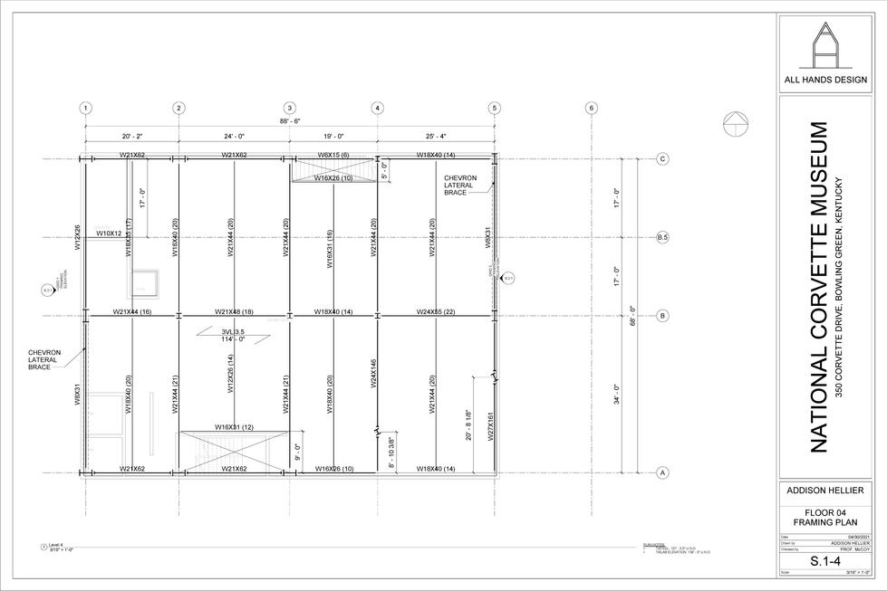 Framing Plan - FL 04