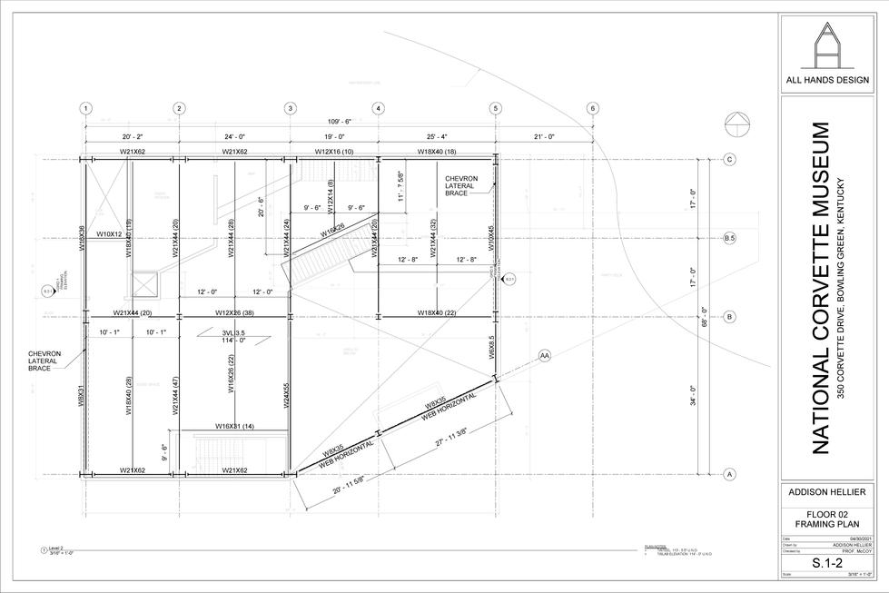 Framing Plan - FL 02