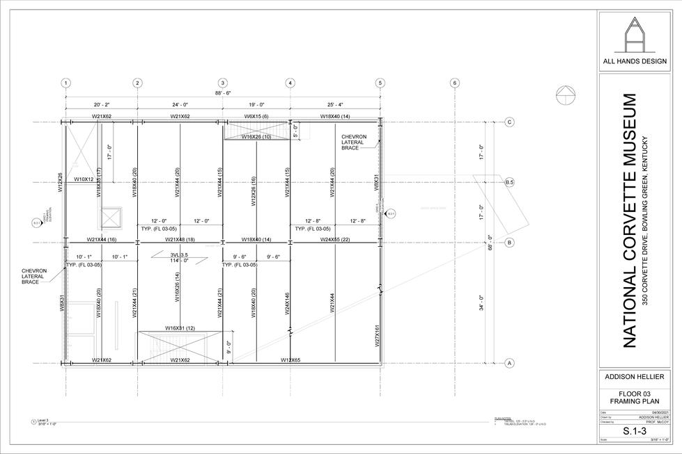 Framing Plan - FL 03