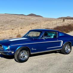 1968 Mustang Fastback   $47,950