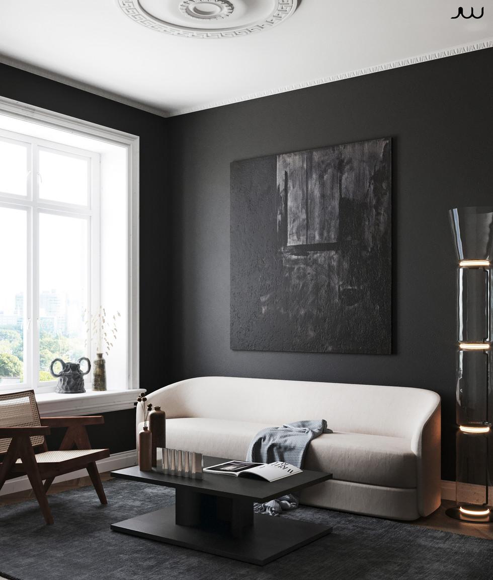 / Interior scandinavian styled /