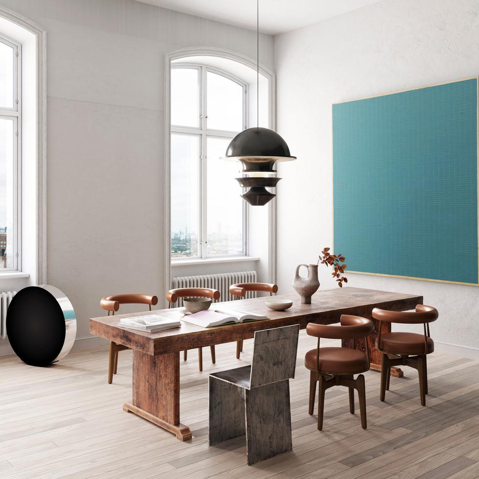 / Scandinavian apartment /