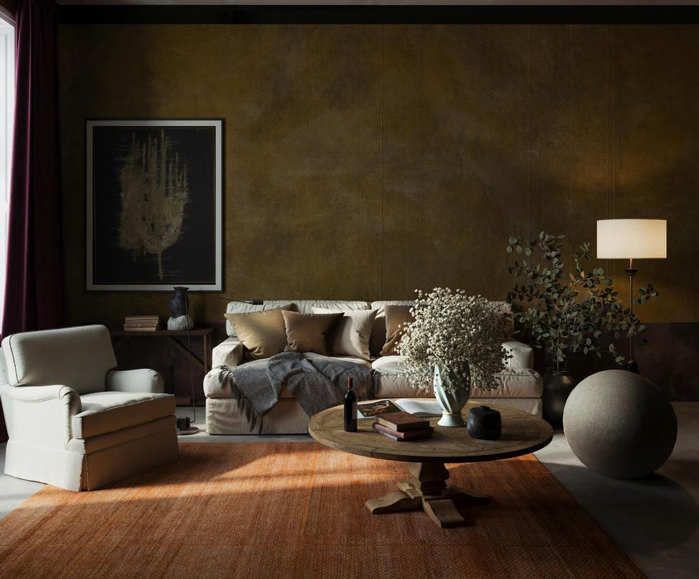 / Wabi Sabi living room /