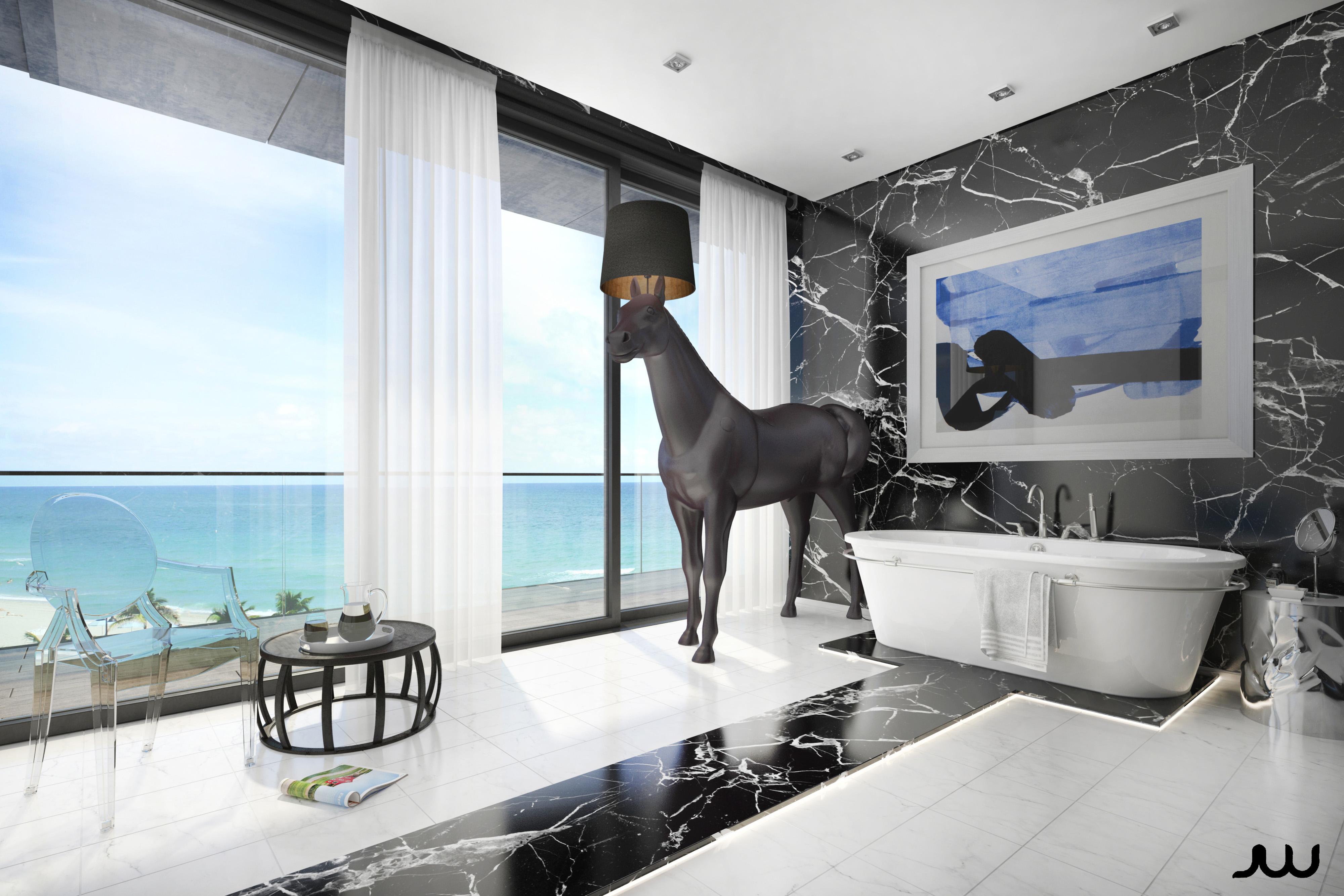 / Baño en Miami /